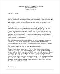 sle corporate sponsorship letter 5 documents in pdf word