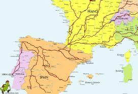 Almeria Spain Map by Pilgrims Ways