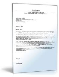 cover letter for software engineer gallery cover letter sample