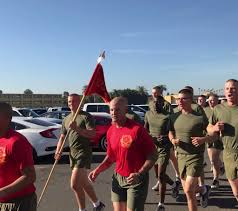 Marines Holding Flag Brian Carson On Twitter