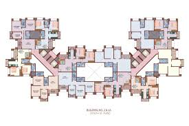 Housing Blueprints Floor Plans by Apartment Building Floor Plans Excellent 6 Duplex House Plans