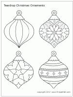blank ornament template template idea