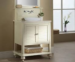 Cottage Bathroom Vanities by Beachy Bathroom Vanities For A Petite Master Bathroom
