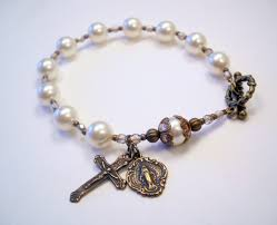 rosary bead bracelet the frugal catholic catholic homemaking blogs