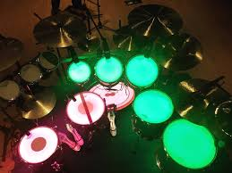Drum Set Lights Thieves Hit On Drum Kit The Courier