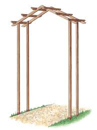 wedding arch plans free how to build a wooden arch kit how tos diy