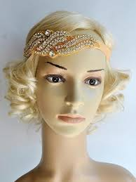 1920s headband gold 1920s rhinestone flapper headband headpiece retro stage