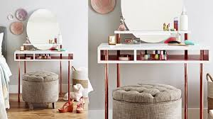 Vanity Table Build A Copper Leg Dressing Table Youtube