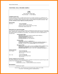 Extra Curricular Activities For Resume Examples 6 Skills Resume Samples Mla Cover Page