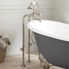 Home Interior Design Kits Bathroom Clawfoot Tub Shower Kit As Your Bathroom Accessories