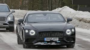 bentley suv 2018 2018 bentley continental gt spied looking lean and mean