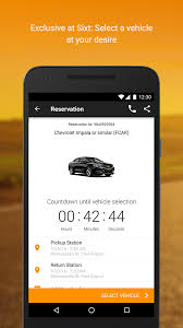 sixt rent a car android apps on google play