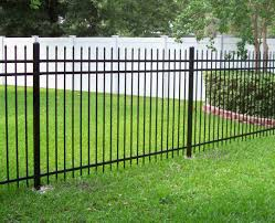 fence metal picket fence endearing metal picket fence styles