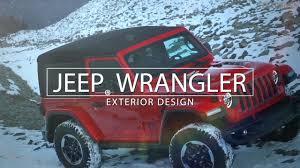 2019 jeep wrangler 2019 jeep wrangler exterior design youtube