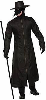 plague doctor hat forum men s plague doctor costume multi color one