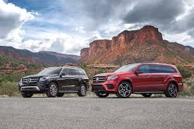 mercedes jeep 2016 red 2017 mercedes benz gls class review the s class of suvs