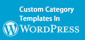 create custom category templates in wordpress u2013 wp cool tricks