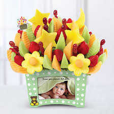 edible photos new baby gift baskets edible arrangements
