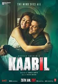 nice movie actors 2017 kaabil poster hrithik roshan yami
