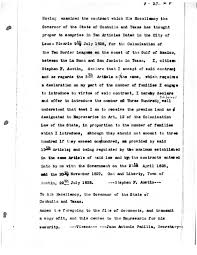 transcript of copy of letter of agreement from stephen f austin