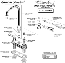 Kitchen Sink Faucet Parts Diagram Impressive American Standard Bathroom Faucet Parts Kitchen