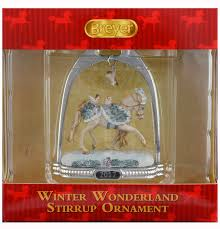 breyer winter 2017 stirrup ornament