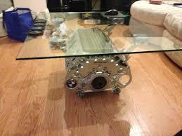 bmw v8 coffee table rockford fosgate 12 inch clock with rf sub box