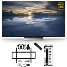 How Much To Wall Mount A Tv Sony Xbr 55x930d 55 Inch Class 4k Hdr Ultra Hd Tv Slim Flat Wall