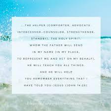 Holy Spirit My Comforter Comfort God U003dlove