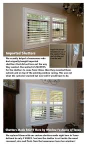 imported shutters vs our texas made shutters austin window fashions