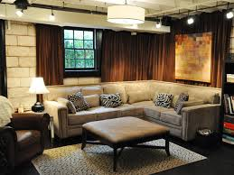 basement design ideas basements curtains and track lighting