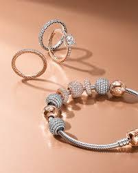 pandora chain bracelet charms images Pandora rose collection 3 ways to wear jpg