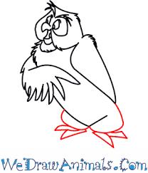 draw owl winnie pooh