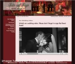 free personal wedding websites create your free wedding website list of free wedding