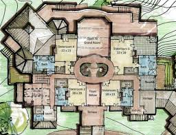 Floor Plan Castle Lolek Castle Blueprints Estate House Plans
