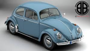 volkswagen vintage cars volkswagen beetle 1963 1200 deluxe 3d model in classic cars 3dexport