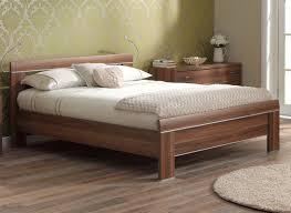Walnut Bed Frames Modern Wooden Bed Frames Blogbeen