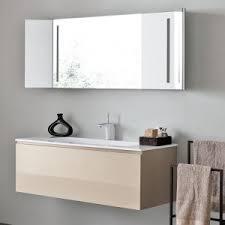 Wall Mounted Bathroom Cabinet by Bathroom White Wall Mounted Bathroom Vanity With Vessel Sinks And