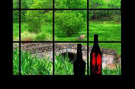 digital window view from the window digital art by rachel katic