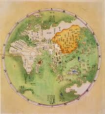Chinese World Map by Chinese Map Of The Eastern Hemisphere 1799 858x935 Mapporn