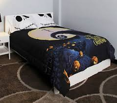 nightmare before skellington bedding
