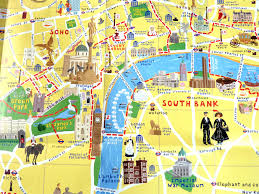 touristic map of map of tourist attractions all world maps