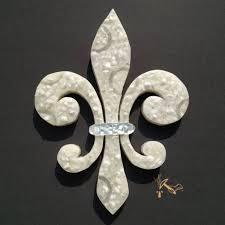 inspiring artic white fleur de lis backsplash tile insert textured pict of trends and energy styles