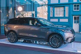 land rover convertible blue 2018 range rover velar review the versatile gent