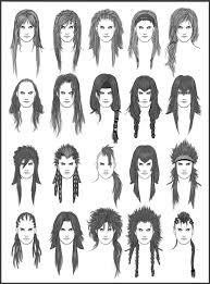 men u0027s hair set 6 by dark sheikah on deviantart