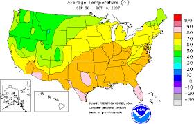 temperature map journey handouts