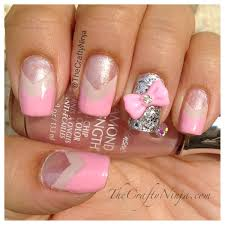 5 nail designs with bows and diamonds nail designs with bows and