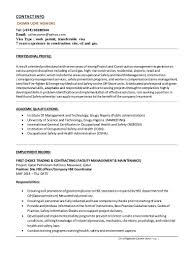 Occupational Health And Safety Resume Examples by Safety Officer Resume Free Resume Example And Writing Download