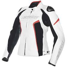 white motorbike jacket leather jacket racing d1 lady white black red fluo jackets leather