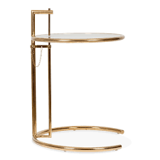eileen grey side table eileen gray style table in gold retro vintage tables cult uk